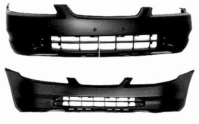 FRONT BUMPER-PRIMED- CAPA CERTIFIED  (1998-2000 HONDA ACCORD- COUPE)