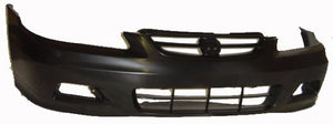 FRONT BUMPER-PRIMED- CAPA CERTIFIED  (2001-2002 HONDA ACCORD- COUPE)
