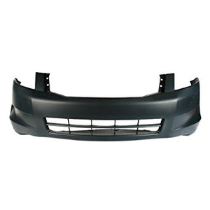 FRONT COVER-PRIMED -4 CYL- W/O FOG LAMP HOLES- CAPA CERTIFIED  (2008-2010 HONDA ACCORD- SEDAN (EXCEPT HYBRID))