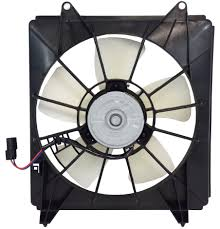 RADIATOR COOLING FAN ASSEMBLY  RH (PASSENGER SIDE)- A/C SIDE -4 CYL- DENSO  (2008-2012 HONDA ACCORD- SEDAN (EXCEPT HYBRID))