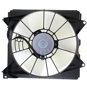 RADIATOR COOLING FAN ASSEMBLY  LH (DRIVER SIDE)- RAD SIDE -4 CYL- TOYO  (2008-2012 HONDA ACCORD- SEDAN (EXCEPT HYBRID))