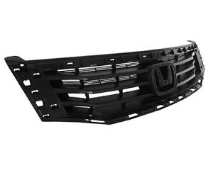 GRILLE FRAME- BLACK (W/O MOULDING)  (2008-2010 HONDA ACCORD- SEDAN (EXCEPT HYBRID))