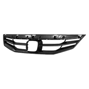 GRILLE - MAT- BLACK- WITHOUT GRILLE MESH  (2011-2012 HONDA ACCORD- COUPE (EXCEPT HYBRID))