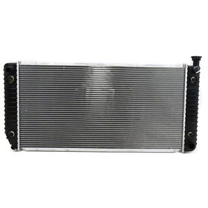 INRADIATOR- 34ININ WIDE CORE- W/ ENGINE OIL COOLER -5.0LIN