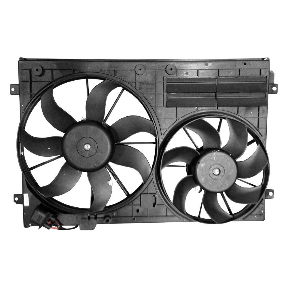 COOLING FAN ASSEMBLY- DUAL 2.0L