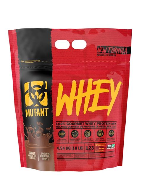 Mutant 100% Whey 10lbs FREE Python shaker with compartment