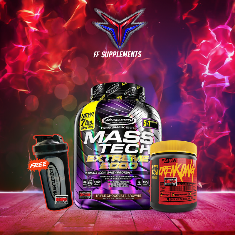 MuscleTech Dirty Bulk Bundle