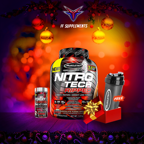 NitroTech Ripped 4lbs + Hydroxycut promo