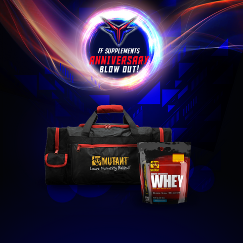 Mutant Whey 10 with Mutant Gym bag