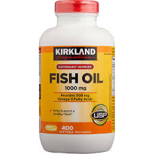 Kirkland Fish Oil 1000mg