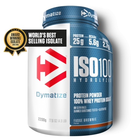 Dymatize ISO100 Hydrolized Whey Protein Isolates 5lbs
