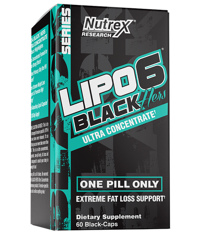 Lipo6 Black Ultra Concentrate Hers