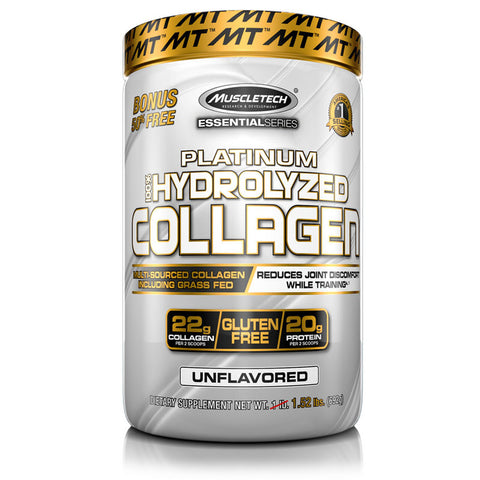 MuscleTech Platinum 100% Hyrolyzed Collagen 1.35lbs