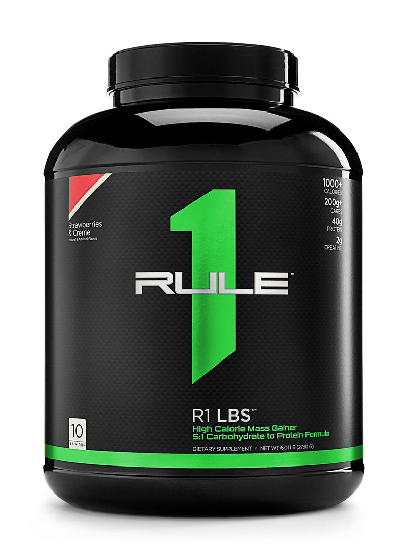 Rule1 Mass Gainer 6lbs (FREE Shaker)