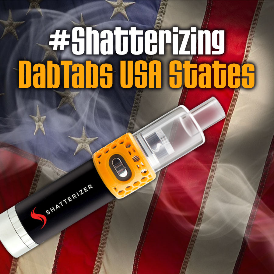 Shatterizing DabTabs USA States