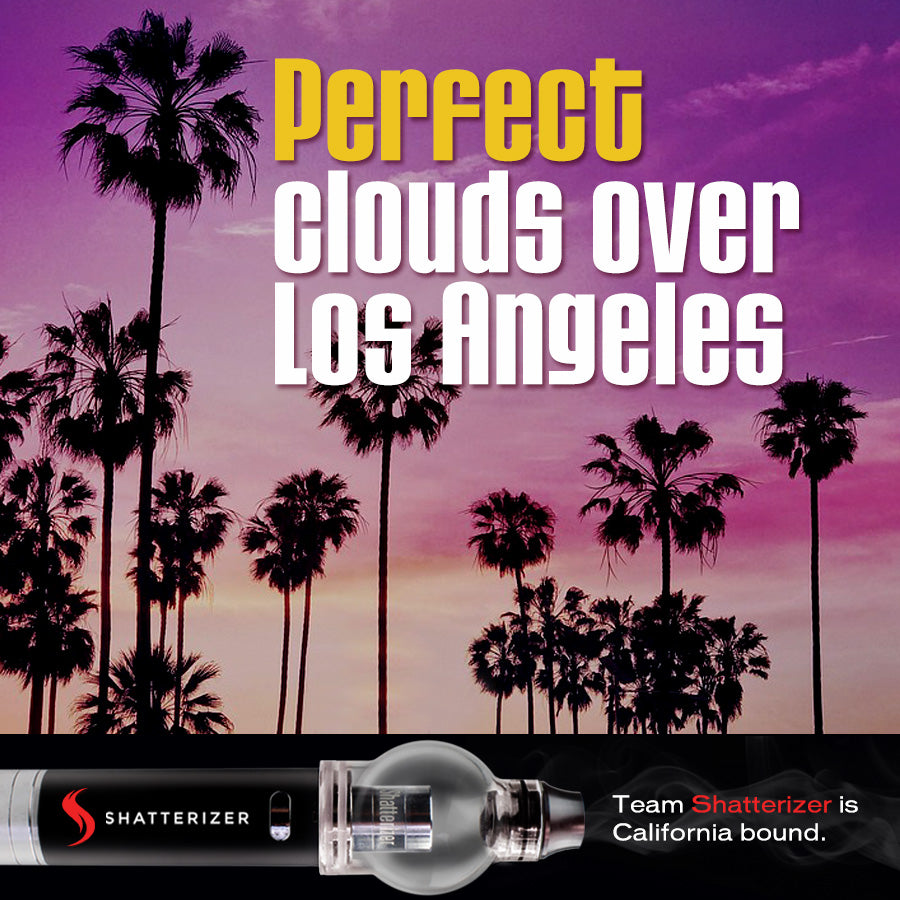 Perfect Clouds over Los Angeles this Week!