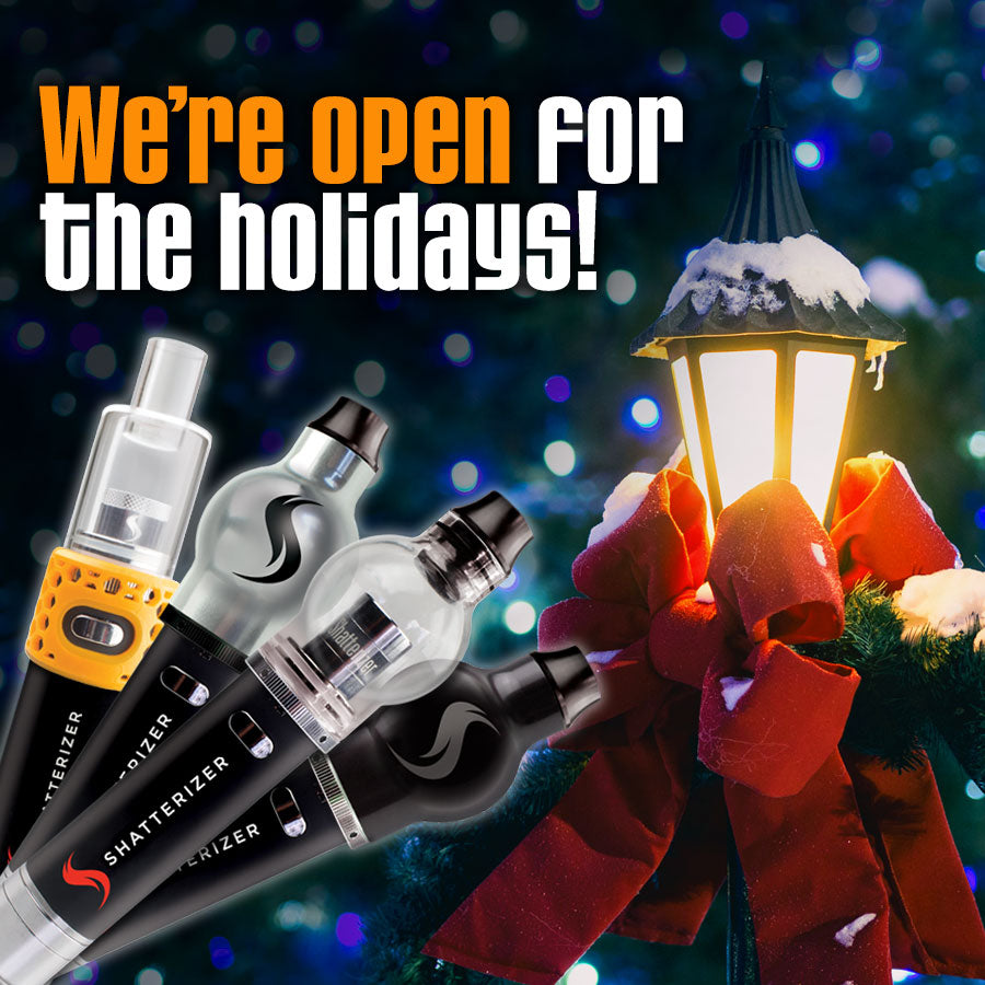 Open for the Winter Holidays!