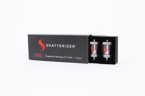 "The ""S"" Pod, Shatterizer's NEW Ceramic Oil Coil"