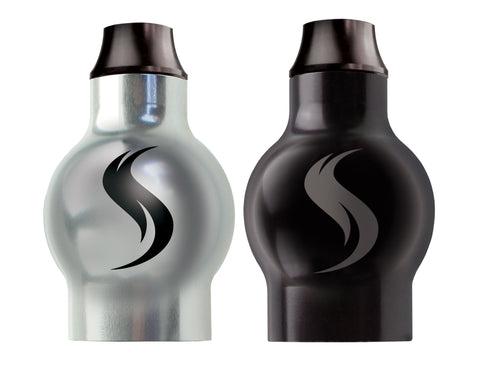 Shatterizer Silver and Black Tops