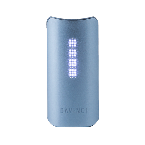 Davinci IQ vaporizer herbal vaporizer blue