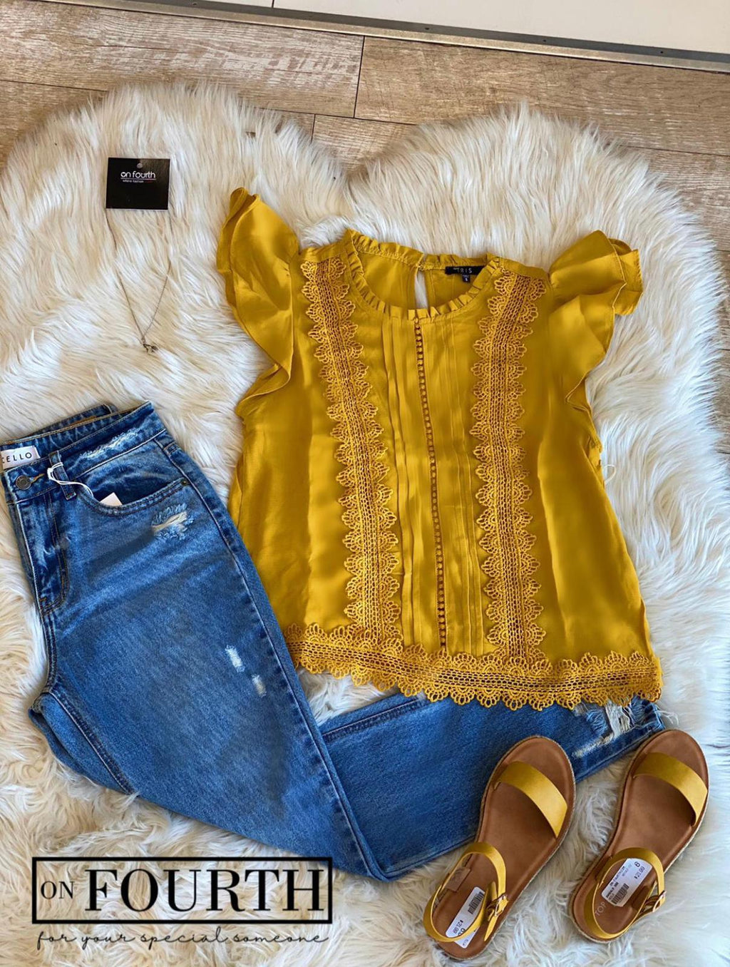 Marissa Top (Yellow)