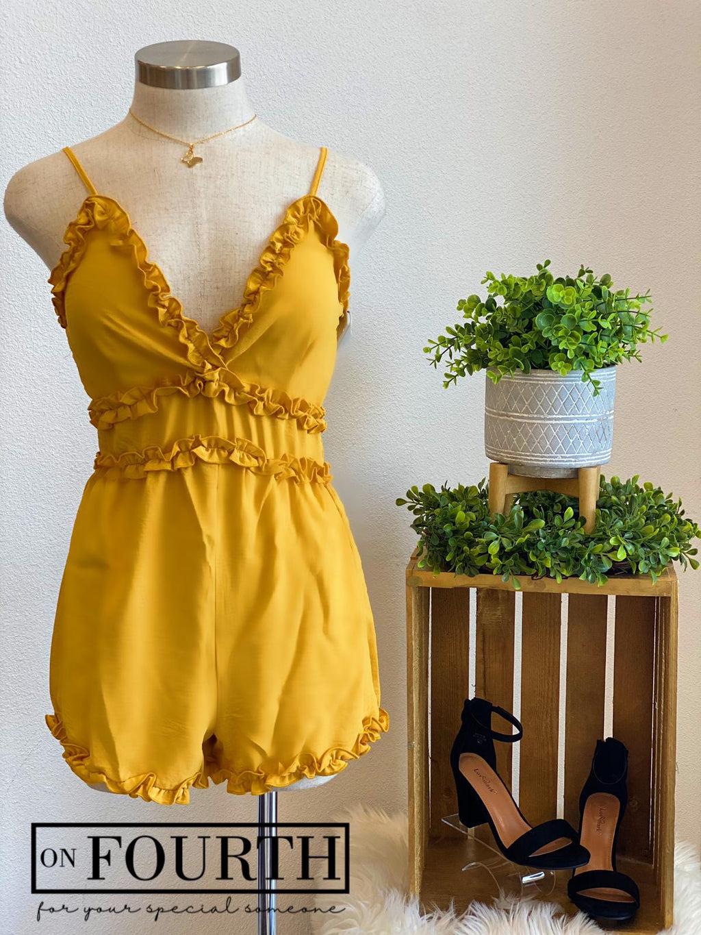 Les Romper (Yellow)