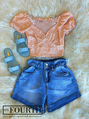 Jossie Top (Orange)