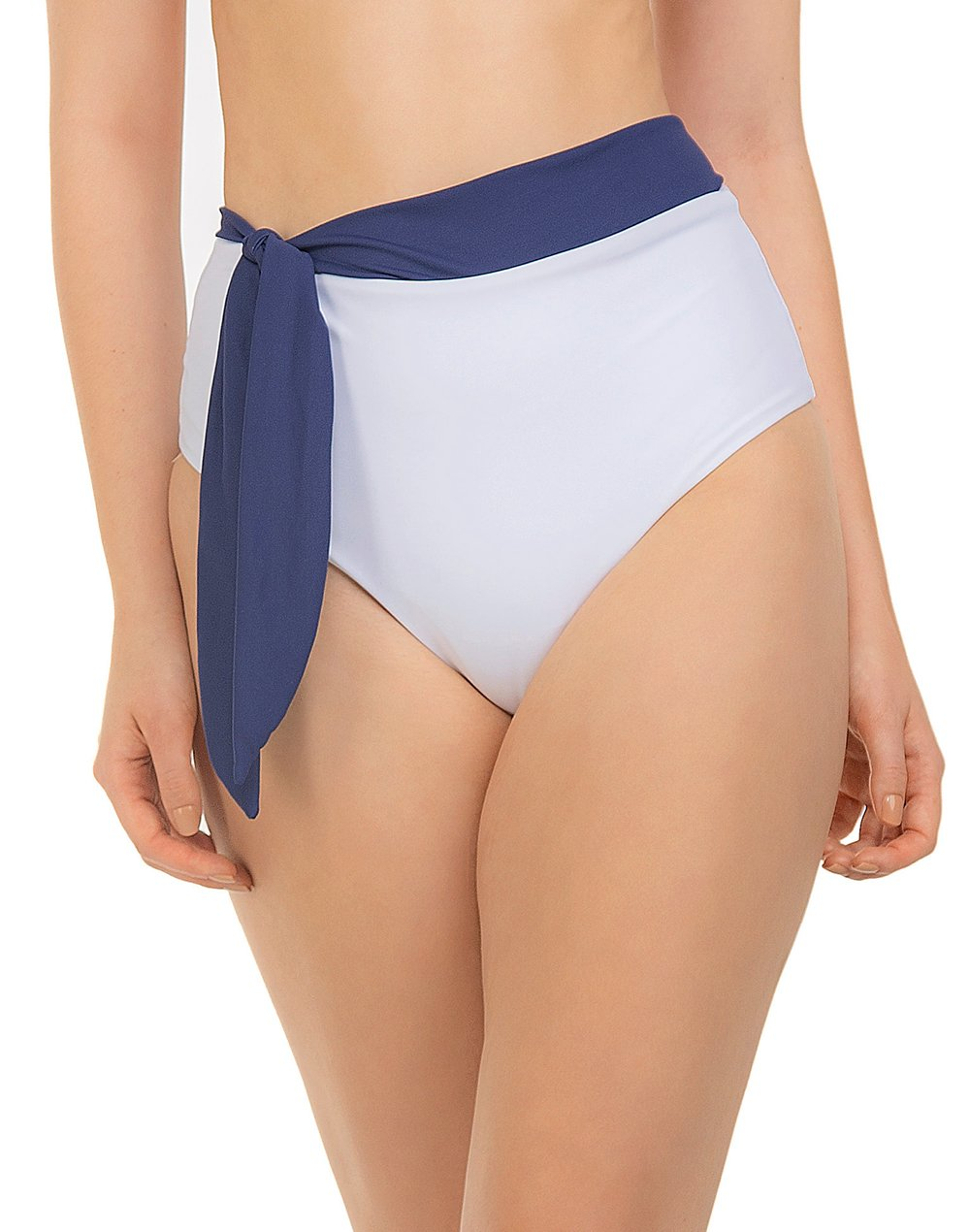 Hotpants Duo Color com Amarração Lateral