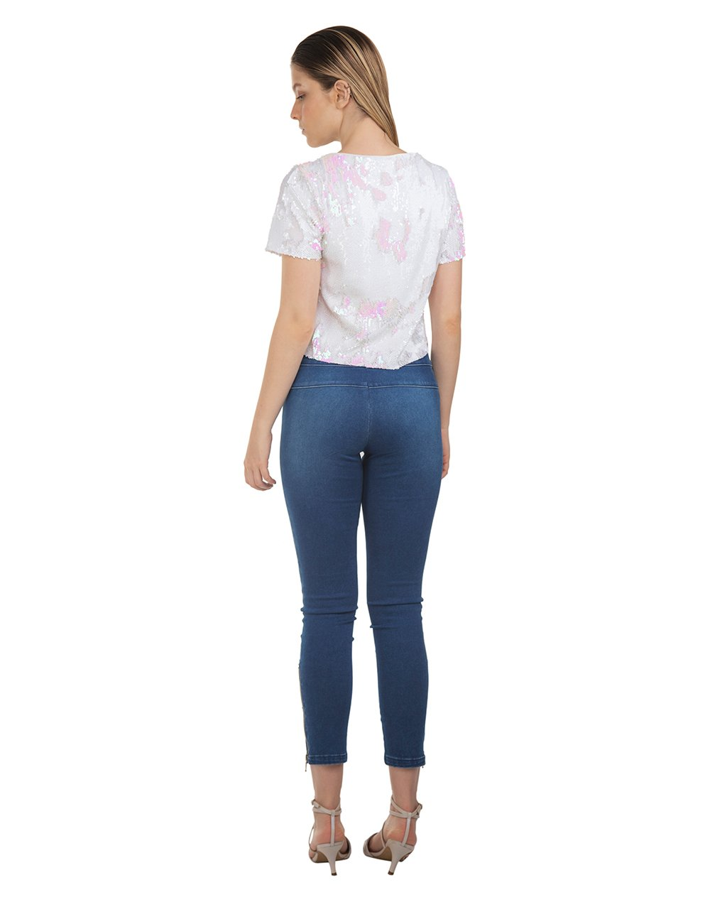 Calça Legging Denim Power Fit