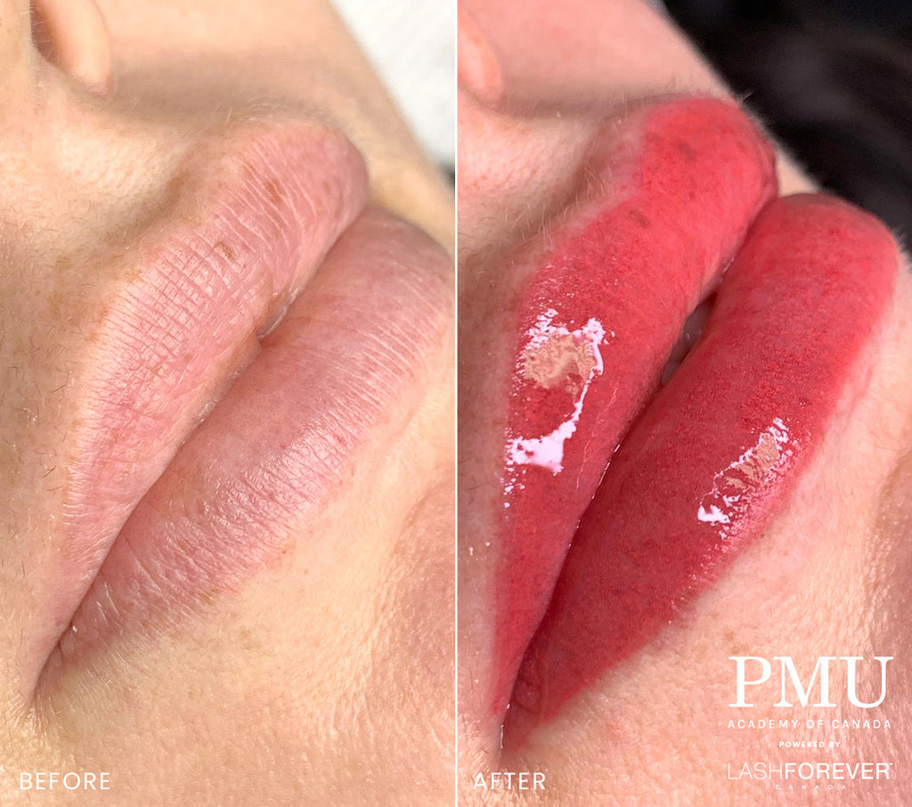 Lip Blushing Pigmentation Course – Final Payment
