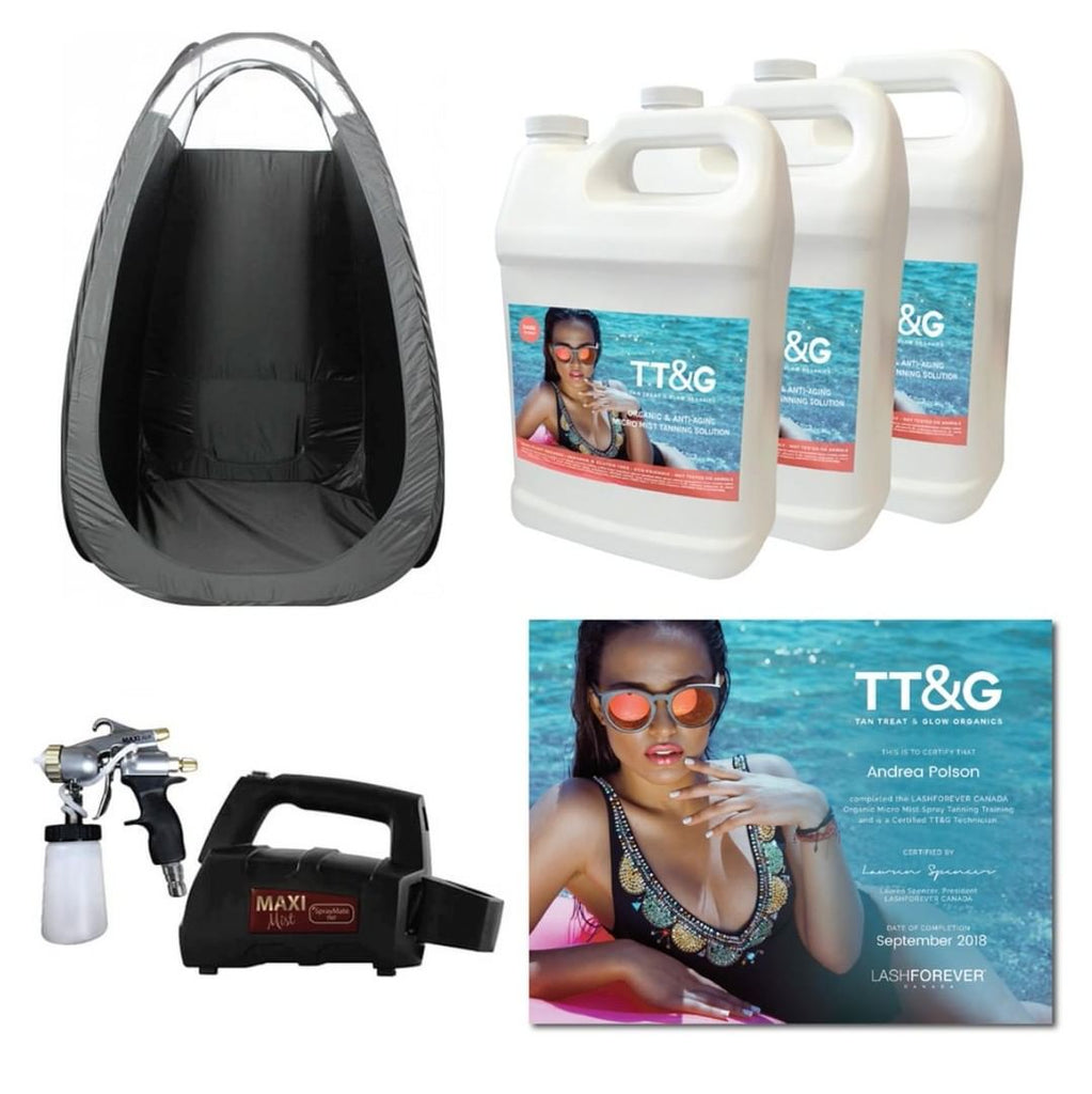 TT&G Organic Mist Spray Tanning – Final Payment