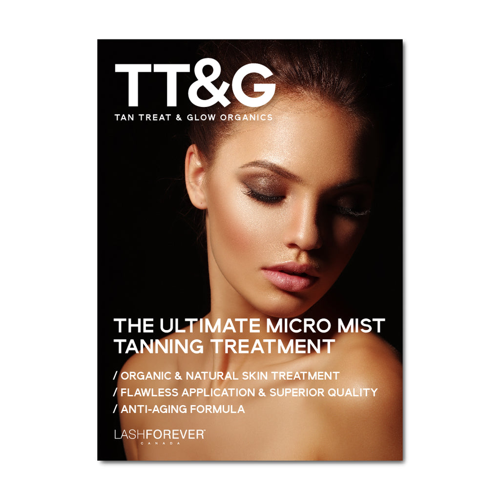 "TT&G Micro Mist Spray Tan - 12""x18"" Promotional Poster"