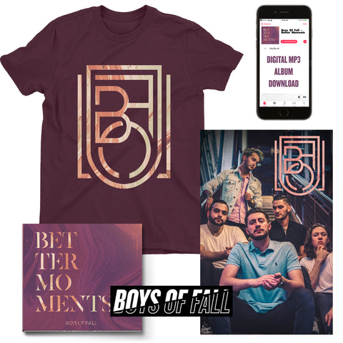 "Boys Of Fall ""Gold Crest"" T-Shirt Bundle (PRE-ORDER)"