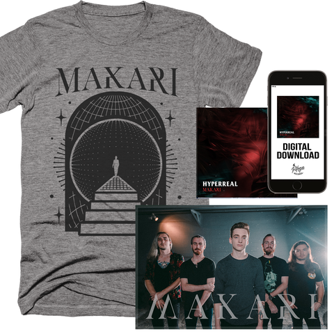 "Makari ""Grey Cosmos"" Shirt Bundle **PRE-ORDER**"