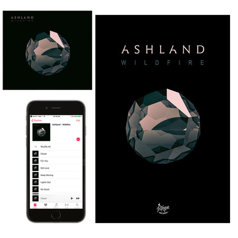 "Ashland ""Wildfire"" CD + Poster Bundle"