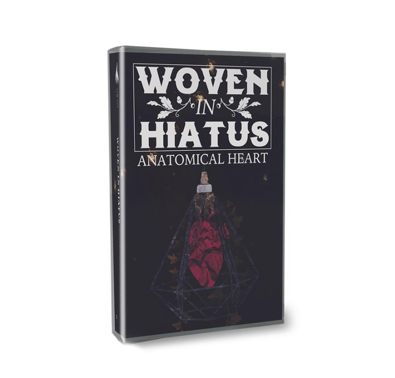 "Woven In Hiatus ""Anatomical Heart"" Cassette Tape"