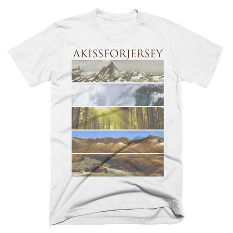 "Akissforjersey ""Nature"" T-Shirt"