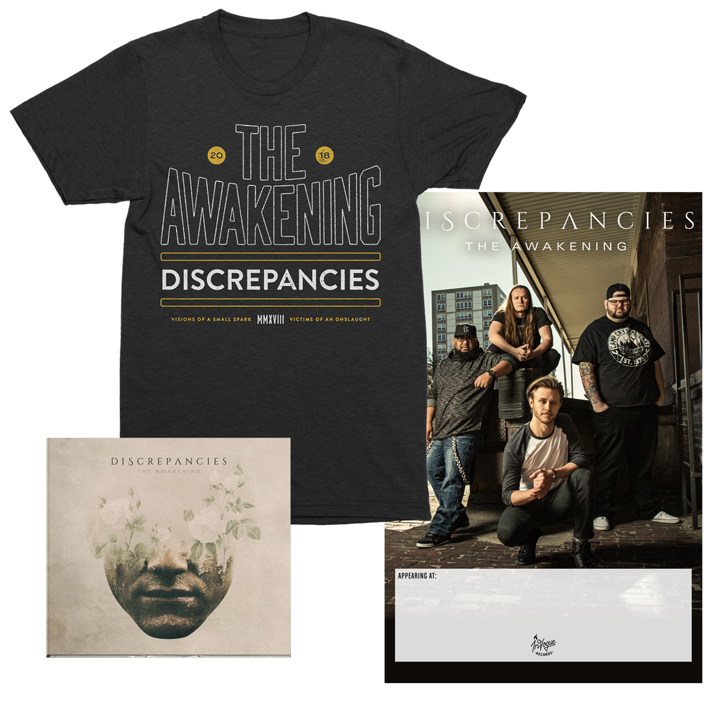 Discrepancies Athletic Shirt Bundle Invoguerecords