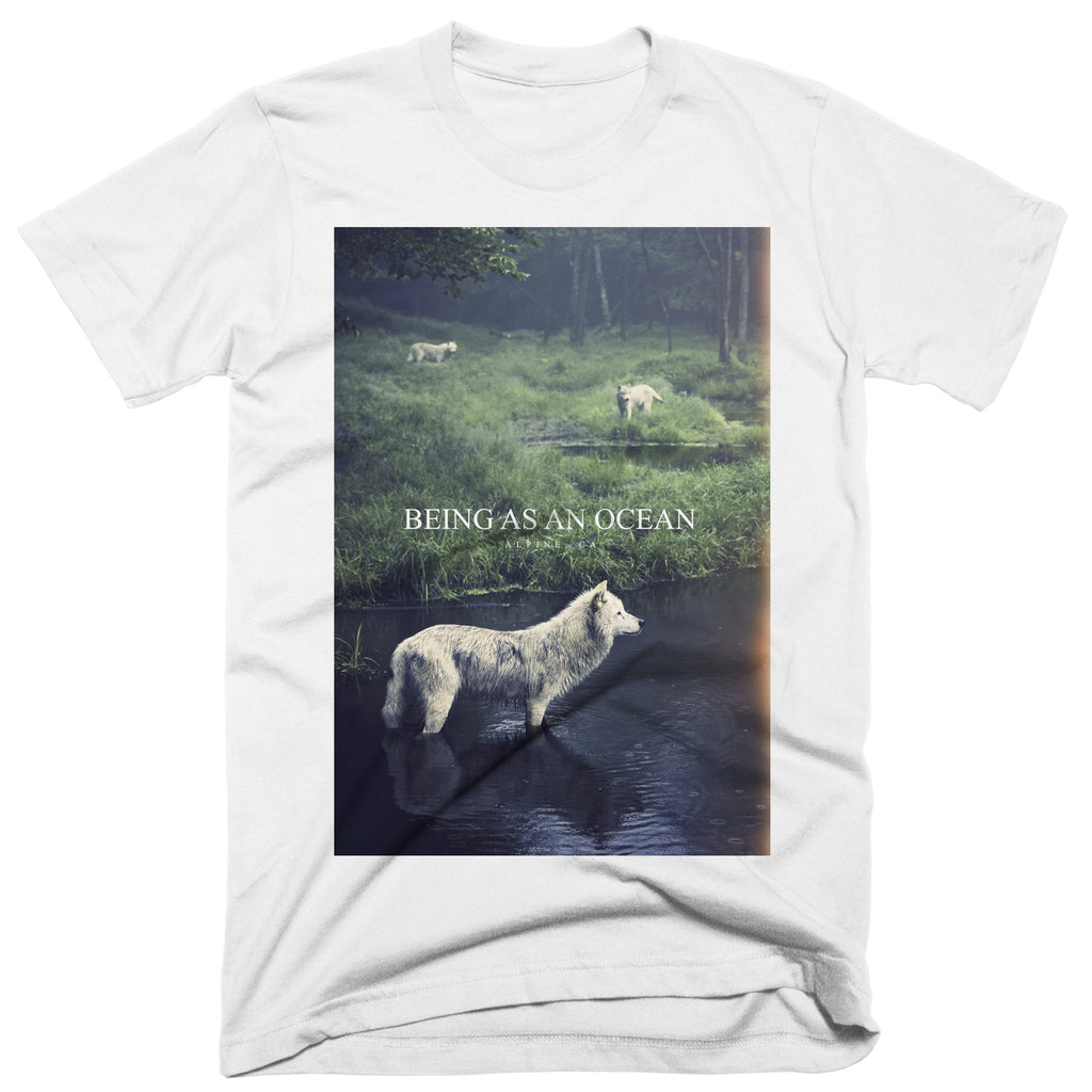 "Being As An Ocean ""Alpine Wolf"" T-Shirt"