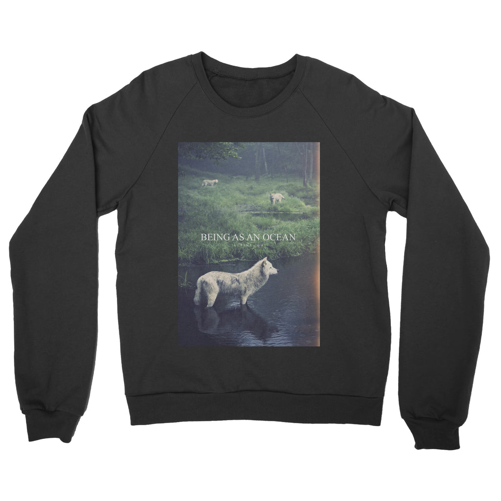 "Being As An Ocean ""Alpine Wolf"" Crewneck Sweatshirt"