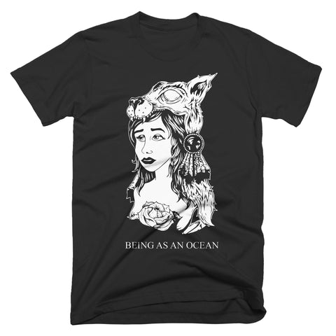 "Being As An Ocean ""Wolfgirl"" T-Shirt"