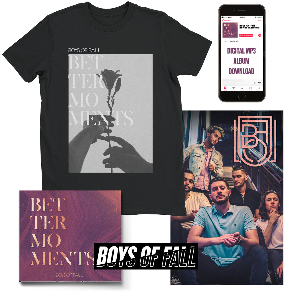 "Boys Of Fall ""Better Roses"" T-Shirt Bundle"