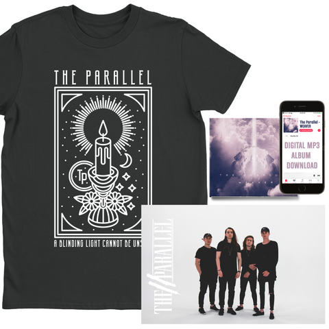"The Parallel Black ""Candle"" T-Shirt Bundle (PRE-ORDER)"