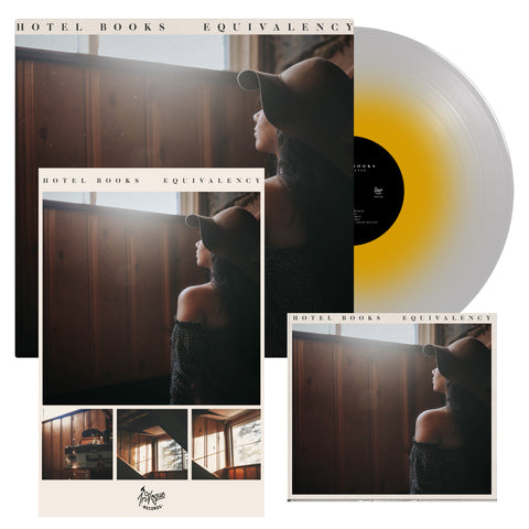 Hotel Books Equivalency CD + LP Bundle