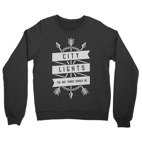 "City Lights ""Arrow"" Crewneck Sweatshirt"