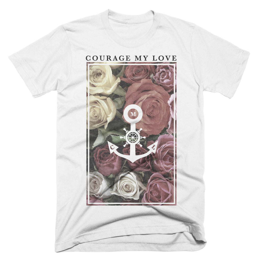 "Courage My Love ""Floral"" T-Shirt"