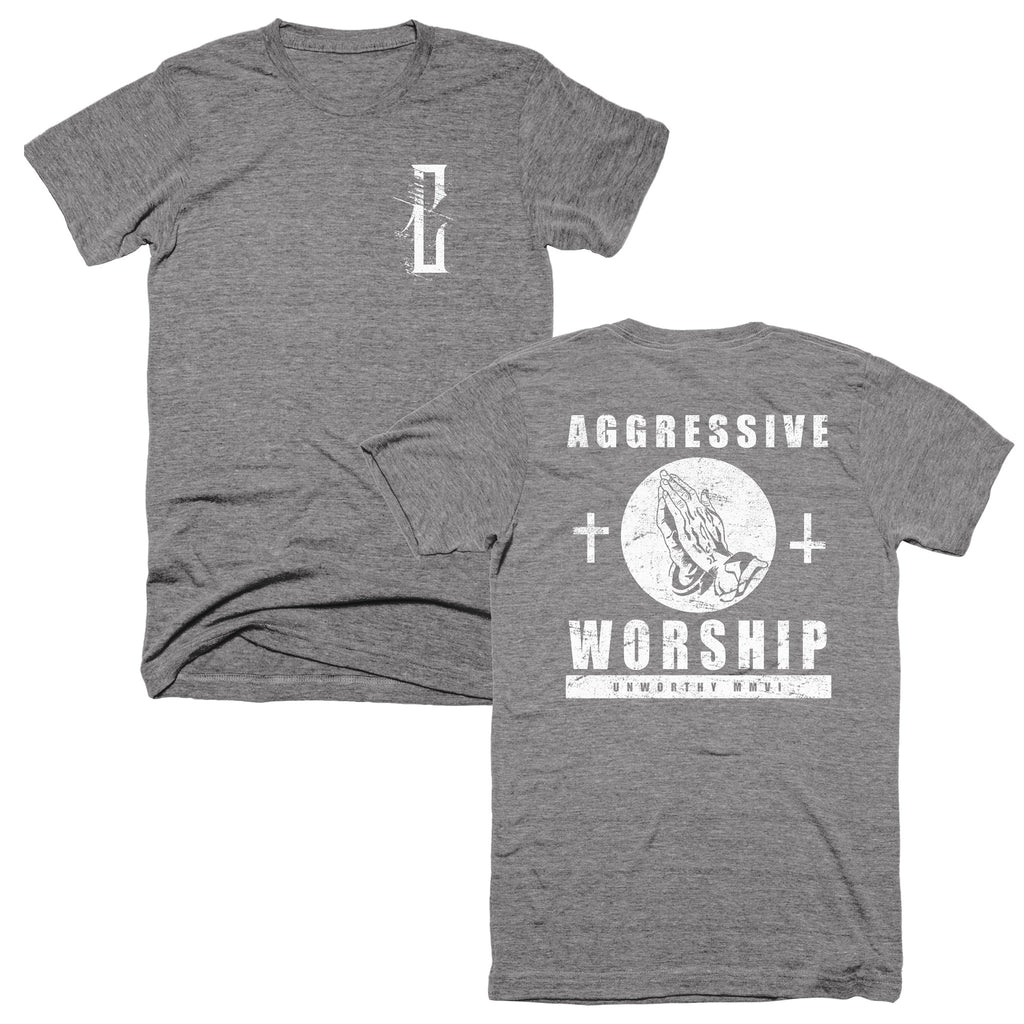 "Convictions ""Aggressive Worship"" T-Shirt"