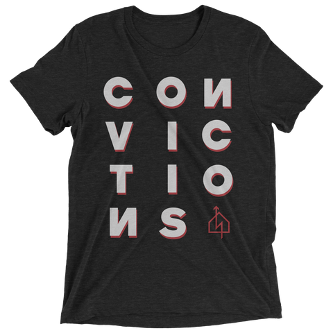 "Convictions ""Convictions"" T-Shirt"