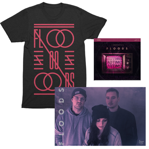 "FLOODS ""Crossword"" Shirt Bundle"
