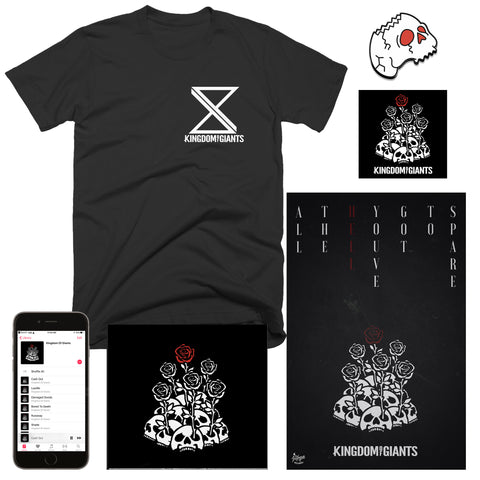 "Kingdom Of Giants ""Damaged Goods"" T-Shirt Bundle"